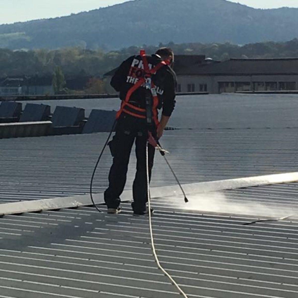 Dach Reinigung