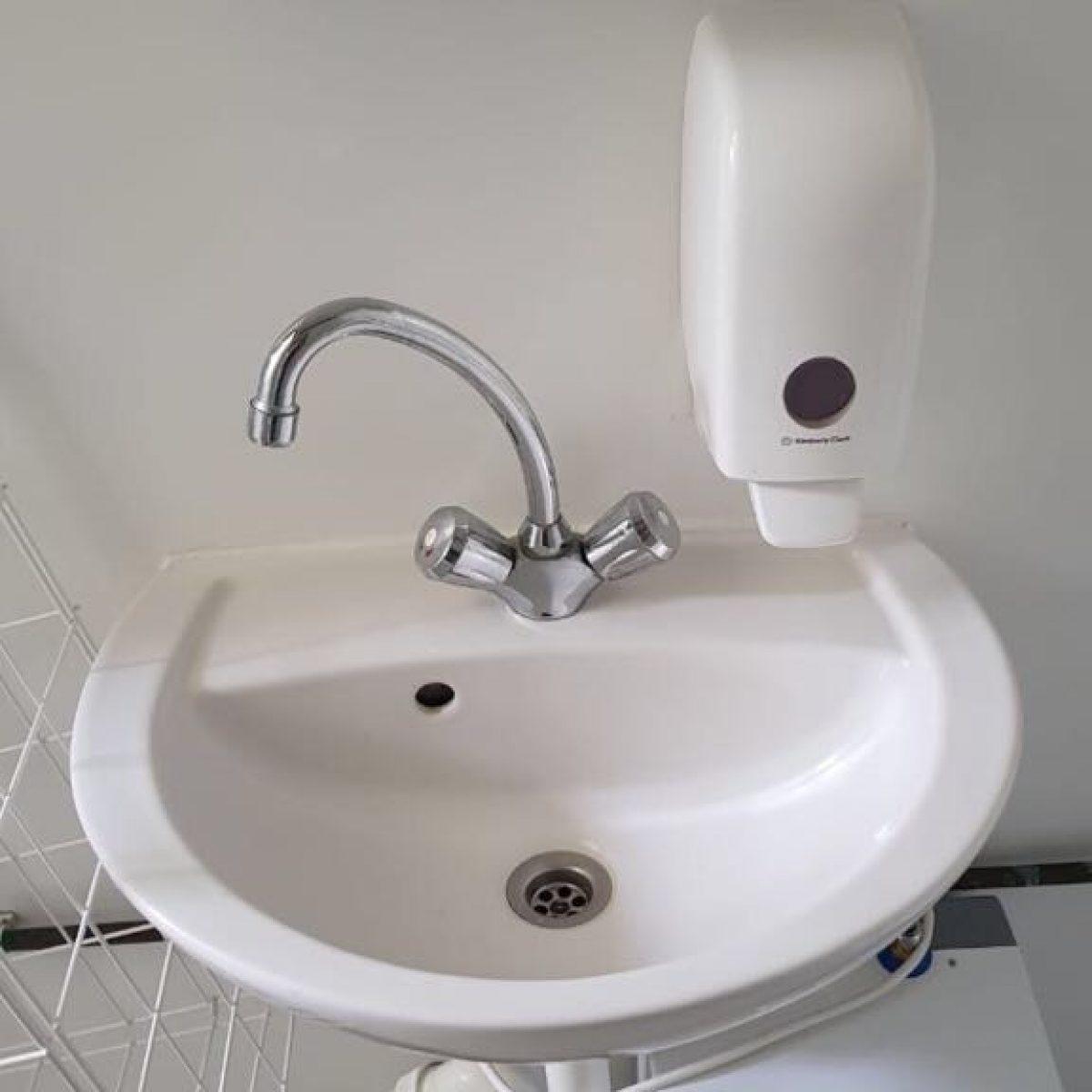 Waschbecken - Nachher